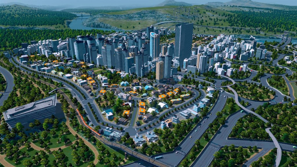 Cities Skylines (Medium)