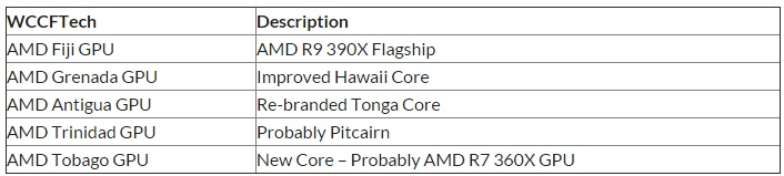 wccftech info o serii rx 300