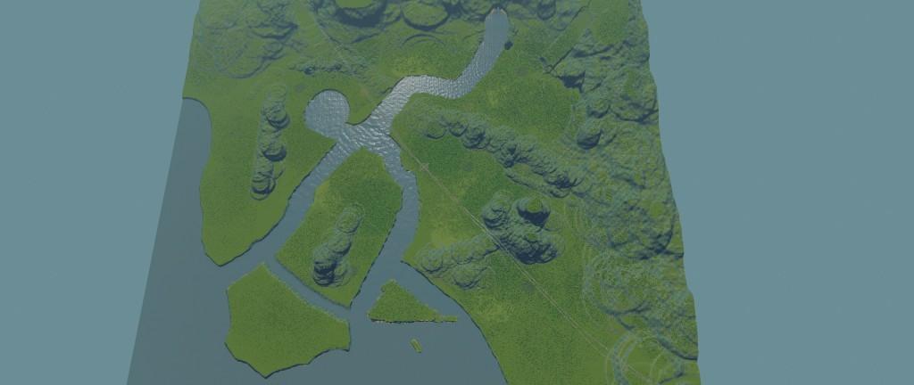 Tak, to jest mapa na której możemy budować miasta. :)
