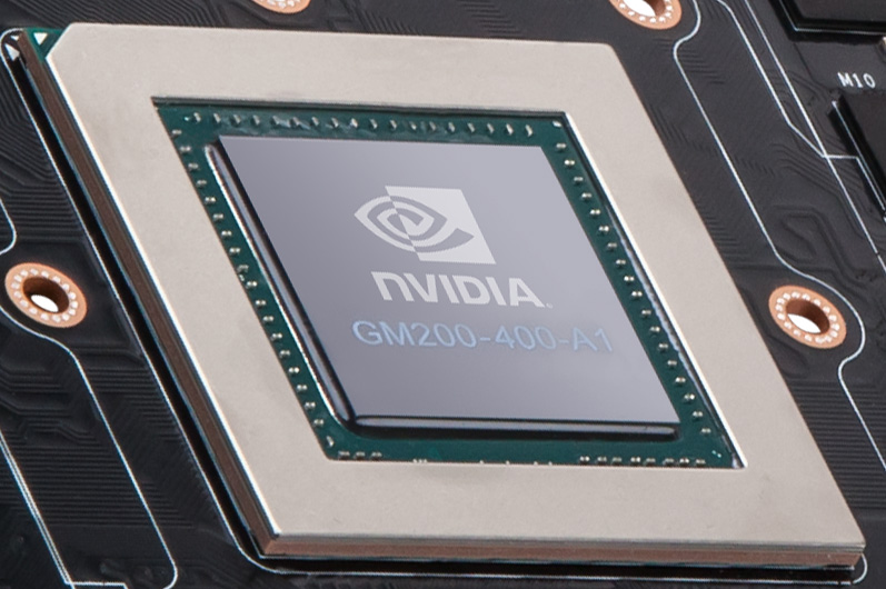 nvidia gm200 chip