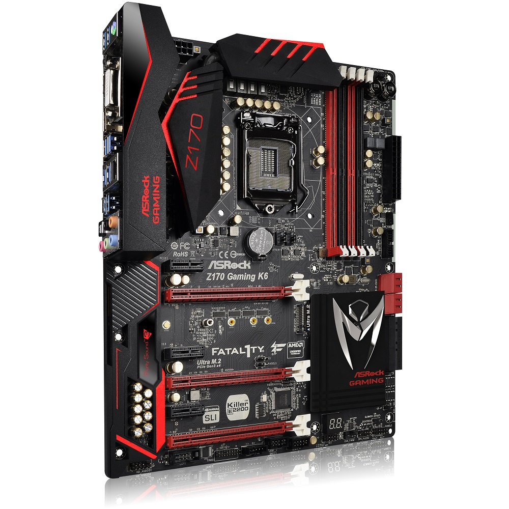 ASRock Z170-FATAL1TY Gaming K6