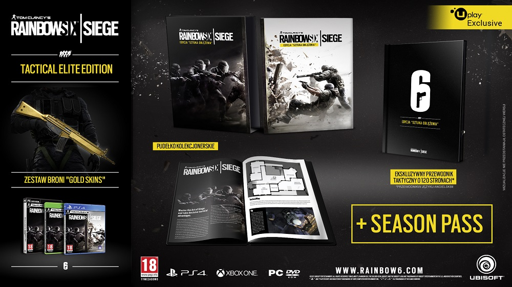 Rainbow Six Siege Tactical Elite Edition