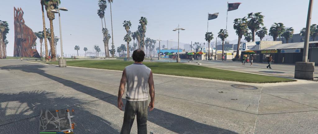 Trevor idzie na plażę