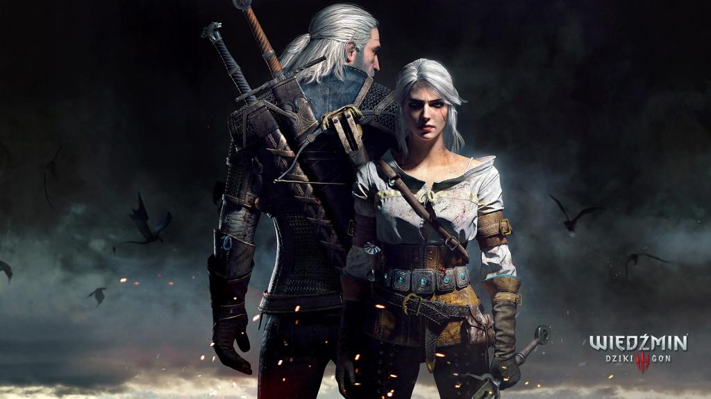 Wiedźmin 3 Geralt z Ciri