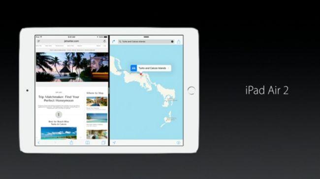 iOS 9 zapowiedź iPad