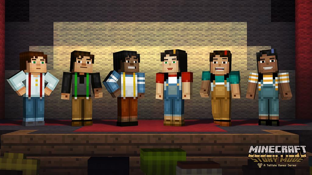 Minecraft Story Mode2