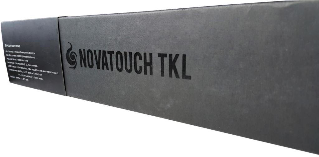 CM Storm NovaTouch TKL - opakowanie