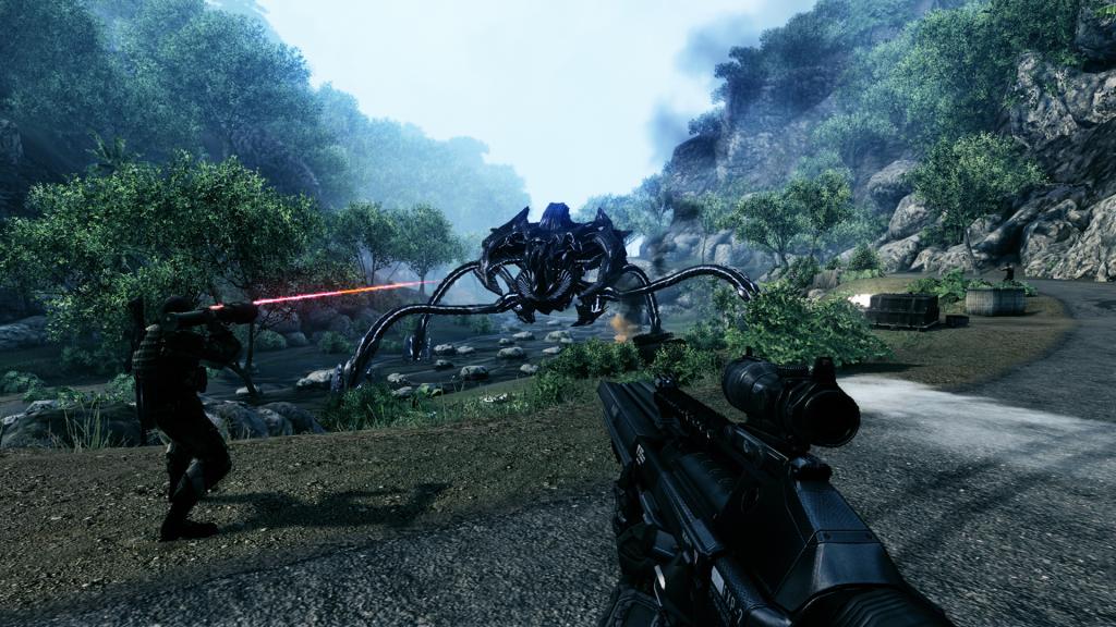 Crysis - jedna z najważniejszych gier poprzedniej generacji stworzona właśnie przez EA