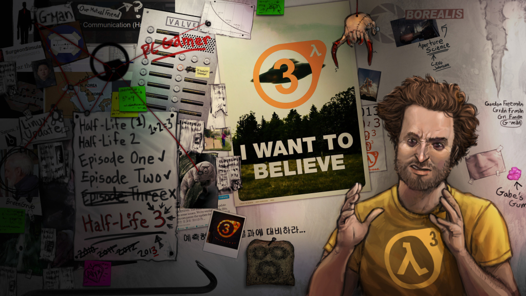 Half Life 3 I Want to Believe