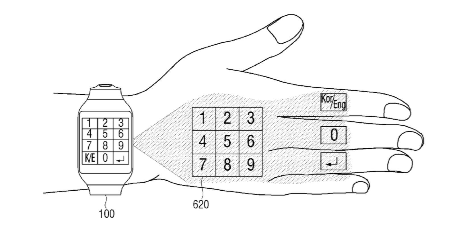 samsung-patent-projection-numpad