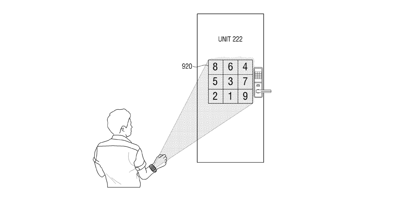 samsung-patent-wall-projection