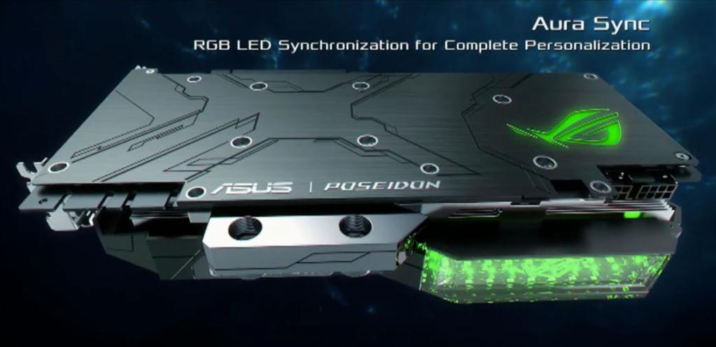 ASUS prezentuje GTX 1080 Ti ROG POSEIDON